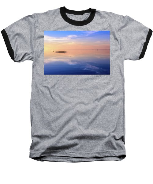 Baseball T-Shirt featuring the photograph Xtra Blue by Thierry Bouriat