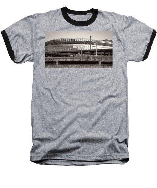 Yankee Stadium    1923  -  2008 Baseball T-Shirt by Daniel Hagerman