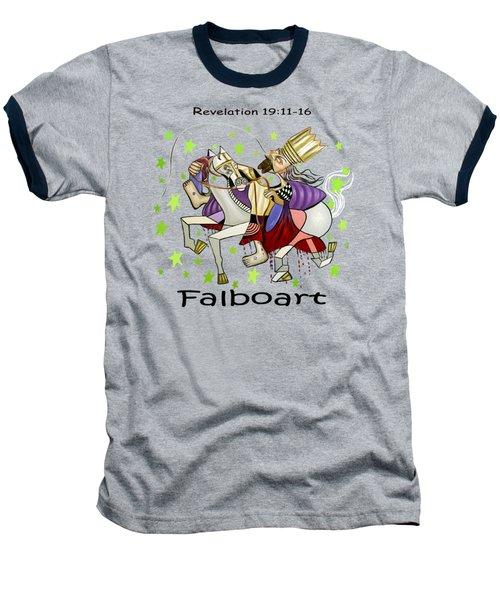 Revelation 19-11-16 Baseball T-Shirt by Anthony Falbo