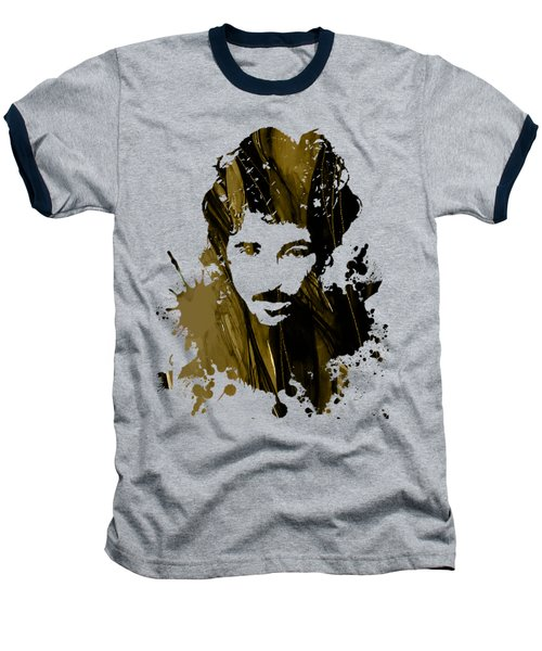 Bruce Springsteen Collection Baseball T-Shirt by Marvin Blaine