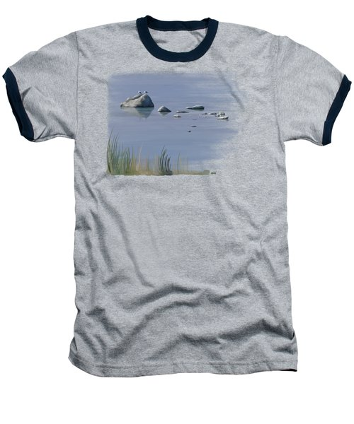 Gull Siesta Baseball T-Shirt by Ivana Westin