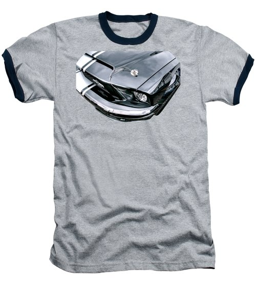 Shelby Super Snake At The Ace Cafe London Baseball T-Shirt by Gill Billington