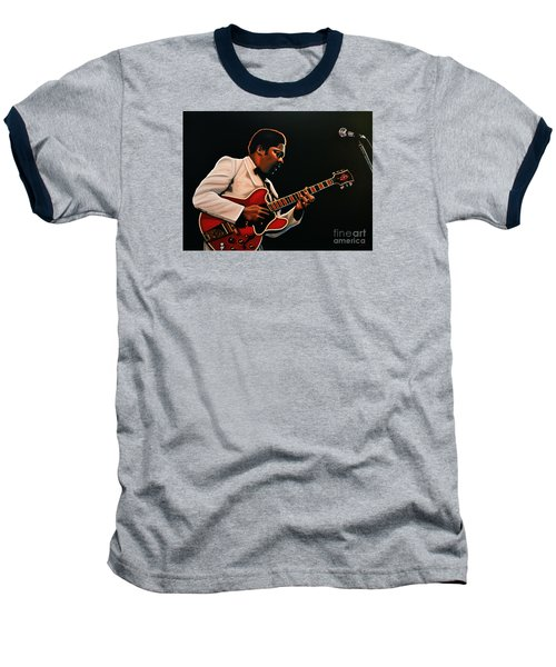 B. B. King Baseball T-Shirt by Paul Meijering