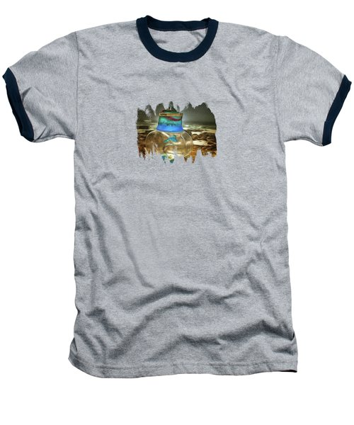 Beach Treasures Baseball T-Shirt by Thom Zehrfeld