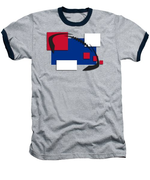 Bills Abstract Shirt Baseball T-Shirt by Joe Hamilton