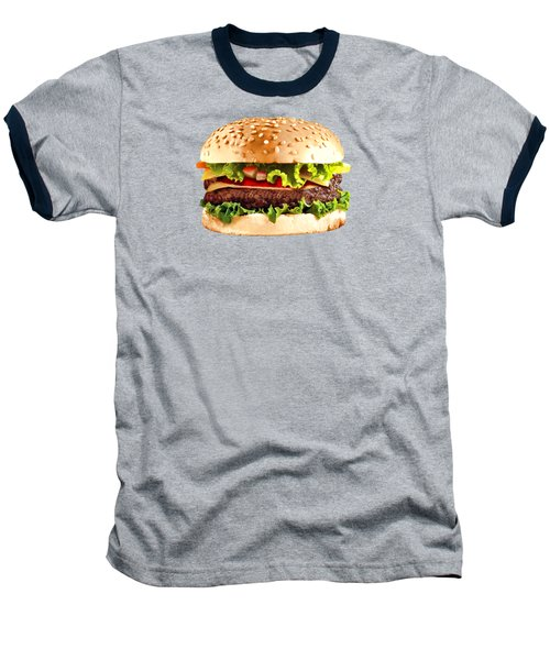Burger Sndwich Hamburger Baseball T-Shirt by T Shirts R Us -