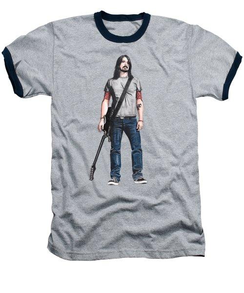 Extraordinary Hero Cutout Baseball T-Shirt by Steven Hart