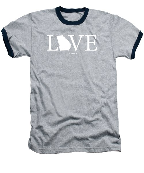 Ga Love Baseball T-Shirt by Nancy Ingersoll