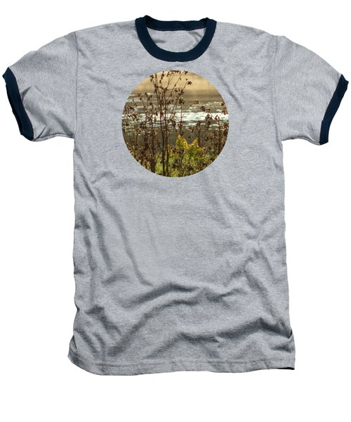 In The Golden Light Baseball T-Shirt by Mary Wolf