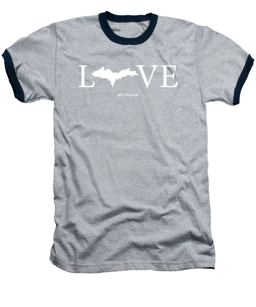 Mi Love Baseball T-Shirt by Nancy Ingersoll