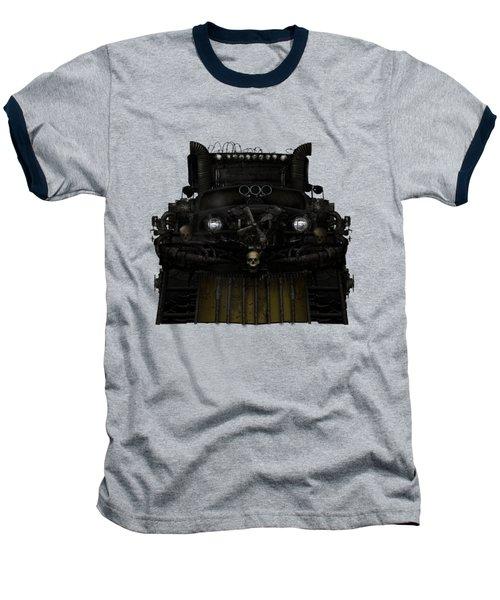 Midnight Run Baseball T-Shirt by Shanina Conway