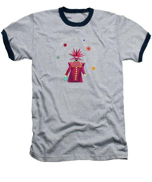 Minimal Space  Baseball T-Shirt by Mark Ashkenazi