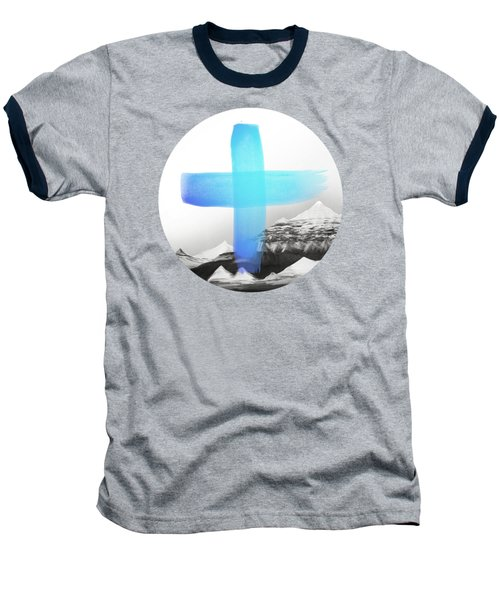 Mountains Baseball T-Shirt by Amy Hamilton