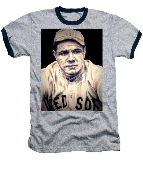 Ruth Baseball T-Shirt by Fred Larucci