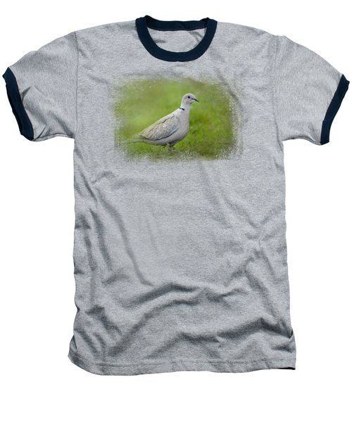 Spring Dove Baseball T-Shirt by Jai Johnson