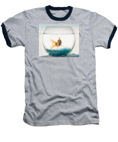 Tiger Fish Baseball T-Shirt by Juli Scalzi