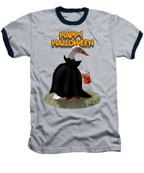 Trick Or Treat For Count Duckula Baseball T-Shirt by Gravityx9  Designs
