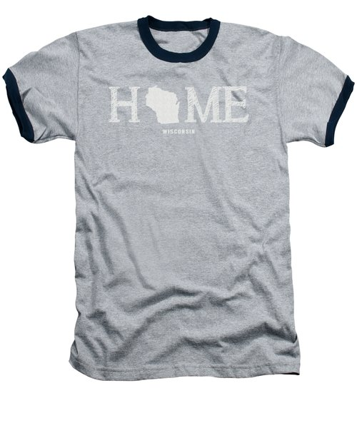 Wi Home Baseball T-Shirt by Nancy Ingersoll