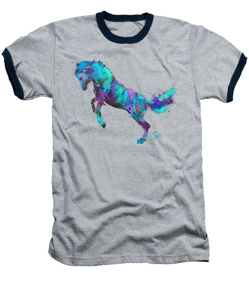 Wild Horses Couldn't Drag Me Away From You Baseball T-Shirt by Nikki Marie Smith