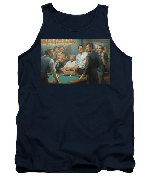 Callin The Blue Tank Top by Andy Thomas