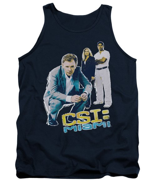 Csi:miami - In Perspective Tank Top by Brand A