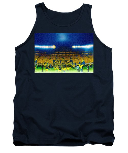 Glory At The Big House Tank Top by John Farr