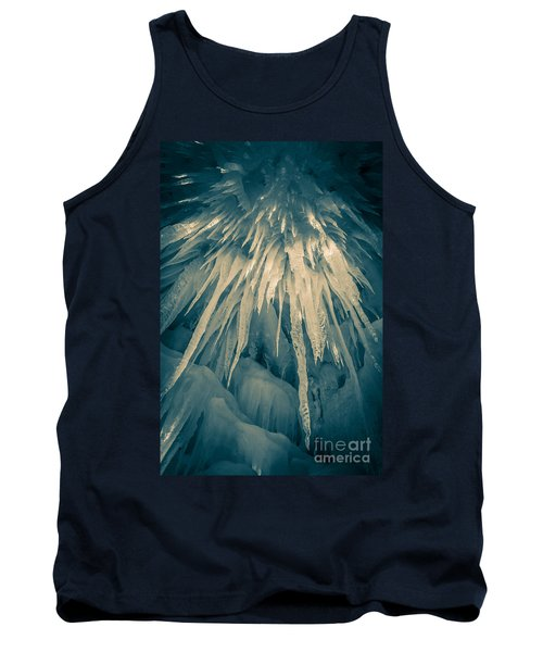 Ice Cave Tank Top by Edward Fielding