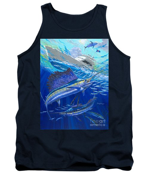 Out Of Sight Tank Top by Carey Chen