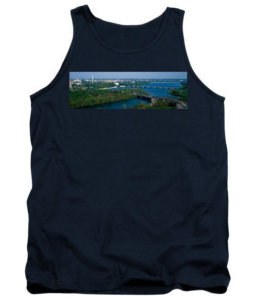 This Is An Aerial View Of Washington Tank Top by Panoramic Images