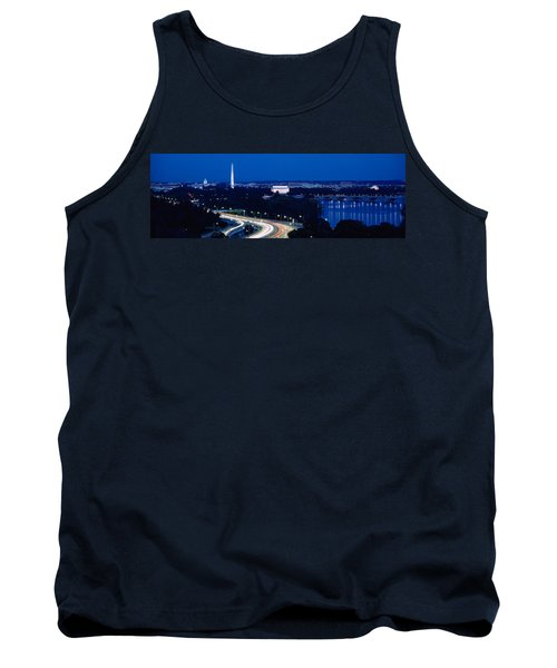 Traffic On The Road, Washington Tank Top by Panoramic Images
