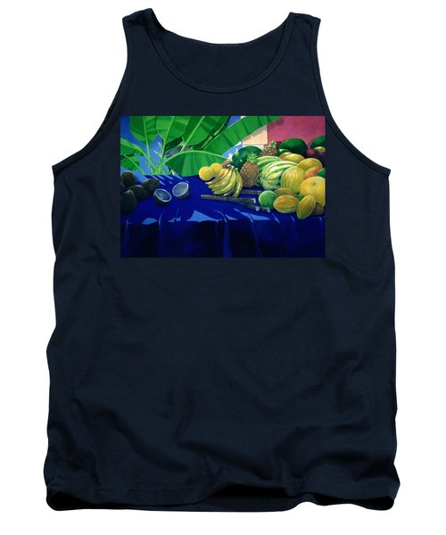 Tropical Fruit Tank Top by Lincoln Seligman