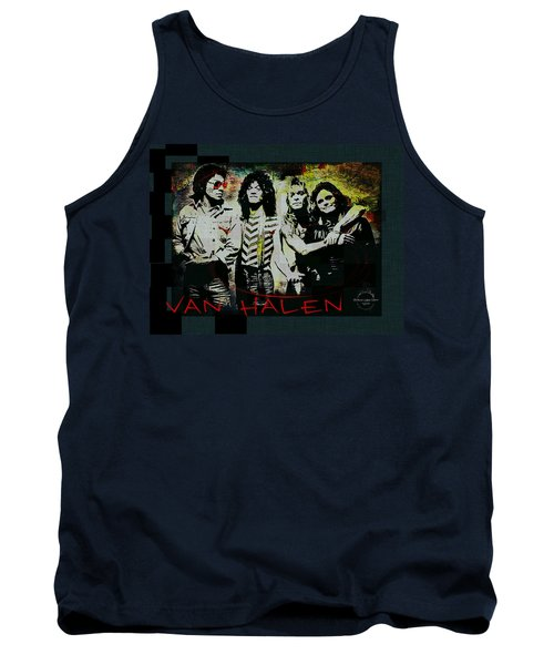 Van Halen - Ain't Talkin' 'bout Love Tank Top by Absinthe Art By Michelle LeAnn Scott