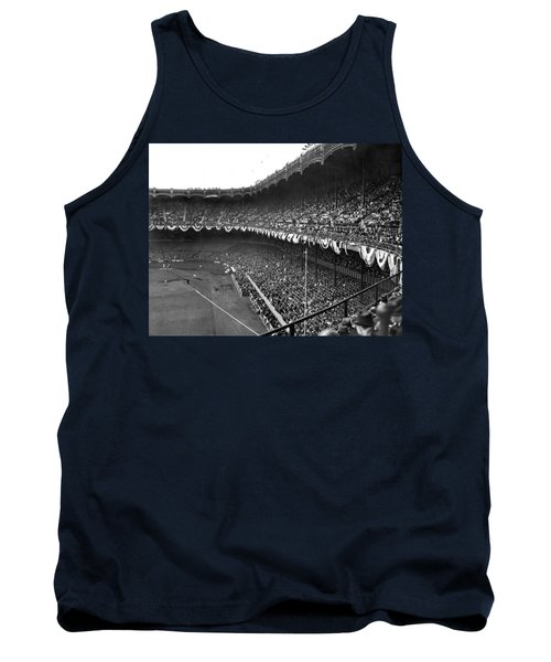 World Series In New York Tank Top by Underwood Archives