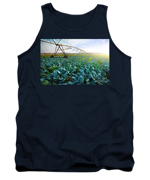 Cabbage Growth Tank Top by Carlos Caetano