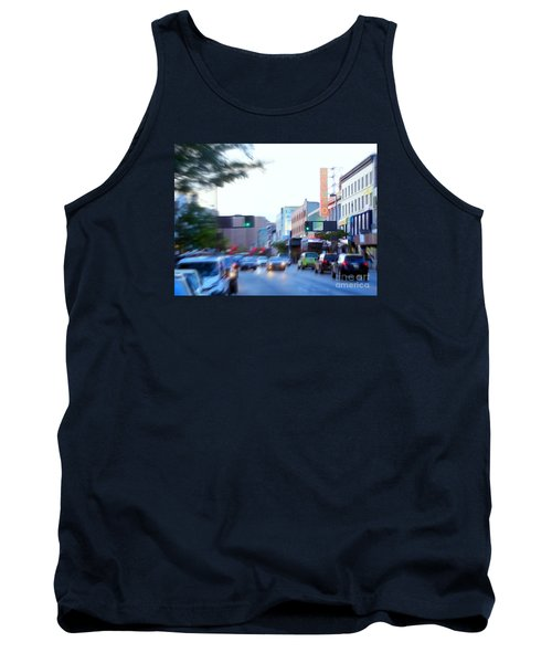 125th Street Harlem Nyc Tank Top by Ed Weidman