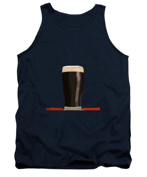 A Glass Of Stout Tank Top by Keshava Shukla