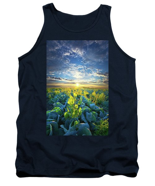 All Joined As One Tank Top by Phil Koch