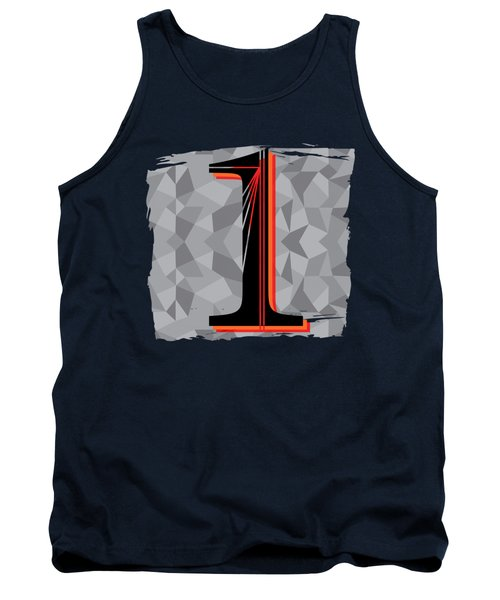 Number 1 One Tank Top by Liesl Marelli