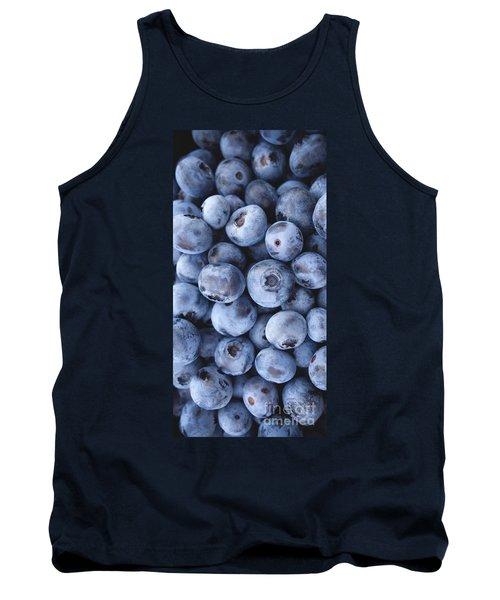 Blueberries Foodie Phone Case Tank Top by Edward Fielding