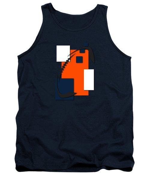 Broncos Abstract Shirt Tank Top by Joe Hamilton