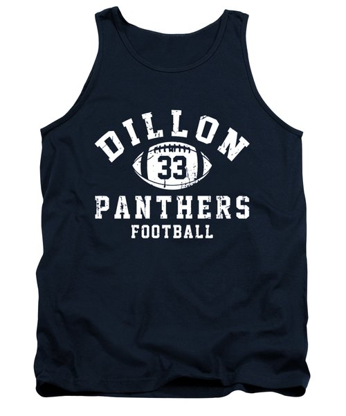 Dillon Panthers Football Tank Top by Pendi Kere