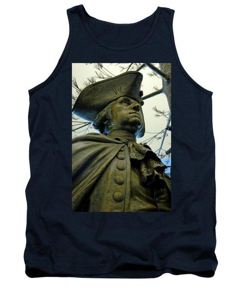 General George Washington Tank Top by LeeAnn McLaneGoetz McLaneGoetzStudioLLCcom