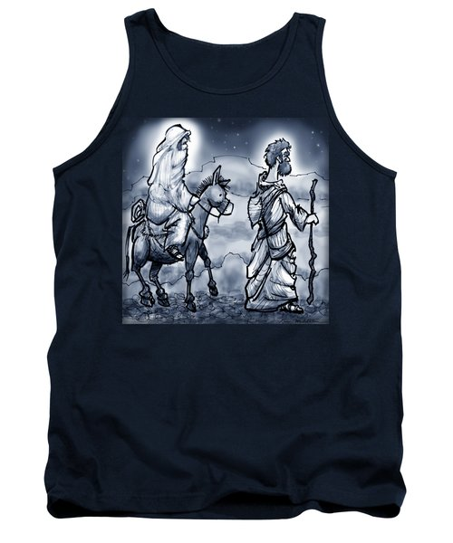 Mary And Joseph  Tank Top by Kevin Middleton