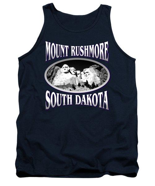 Mount Rushmore South Dakota - Tshirt Design Tank Top by Art America Online Gallery