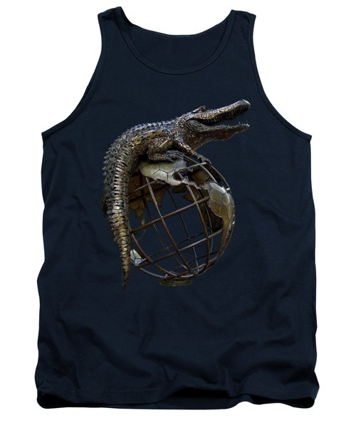 On Top Of The World Transparent For T Shirts Tank Top by D Hackett
