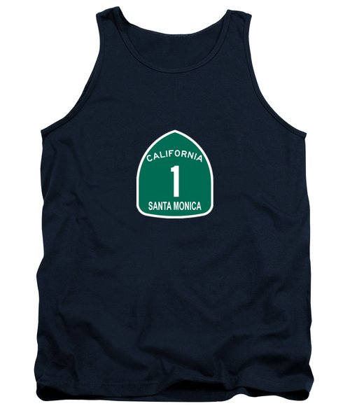 Pch 1 Santa Monica Tank Top by Brian's T-shirts