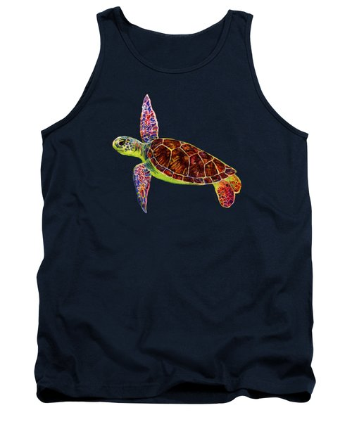 Sea Turtle Tank Top by Hailey E Herrera