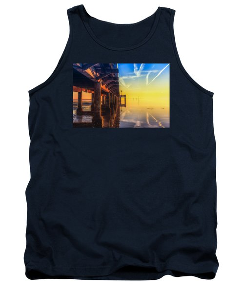 Tank Top featuring the photograph Somewhere Else by Thierry Bouriat