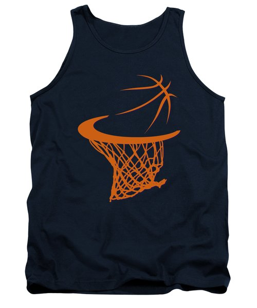 Suns Basketball Hoop Tank Top by Joe Hamilton