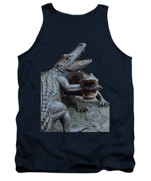 The Chomp Transparent For Customization Tank Top by D Hackett